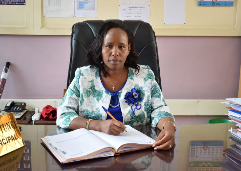 Glory K. Mutungi (Mrs) - Chief Principal
