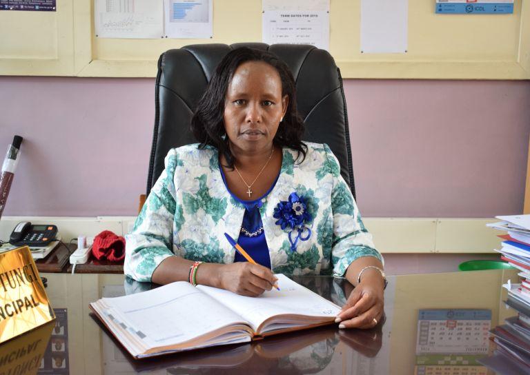 Glory K. Mutungi (Mrs) - Chief Principal